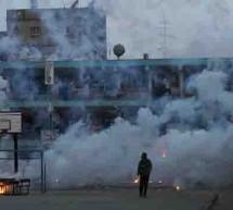 Fotos fazer bombardeio de fósforo Branco a Gaza